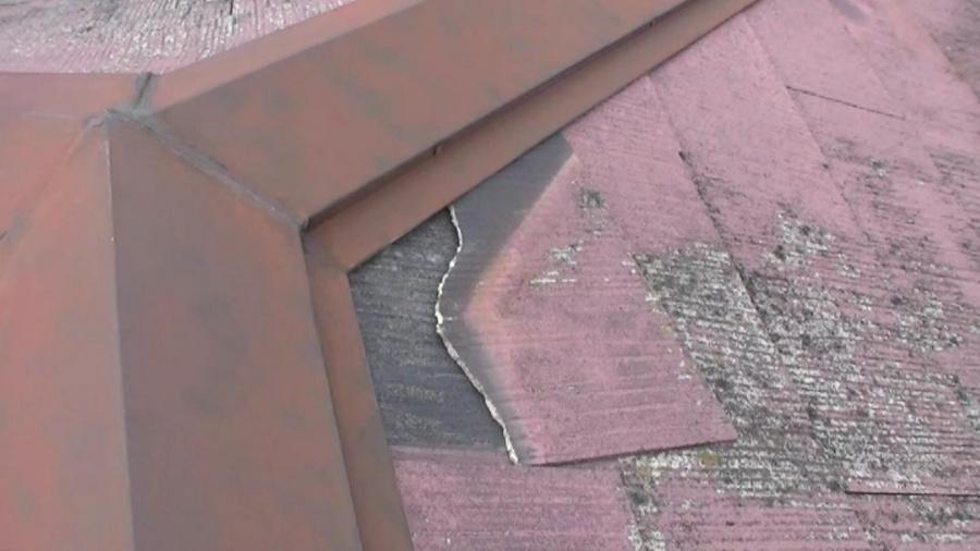 八尾市 スレート屋根 劣化