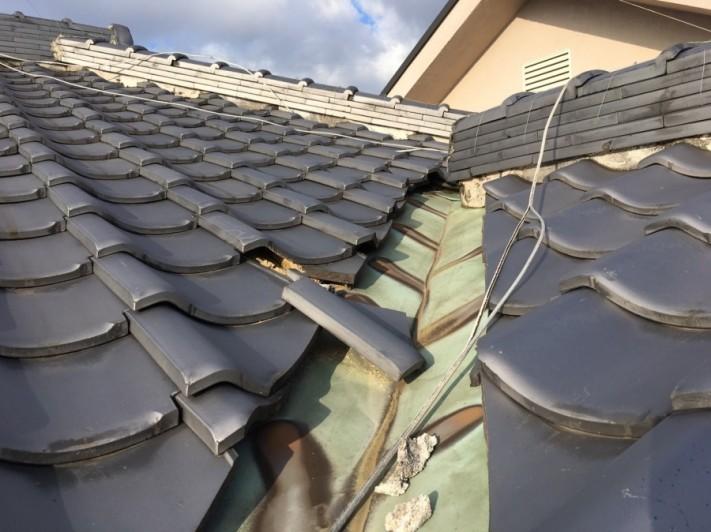 雨漏り銅の板金劣化 南太子堂