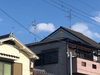 八尾市 台風 テレビアンテナ