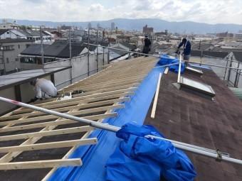 八尾 屋根工事 カバー工法