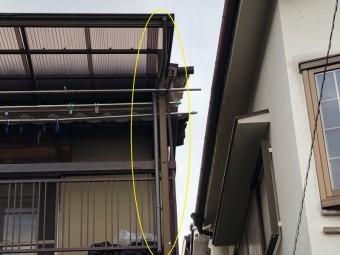 八尾市 樋の工事