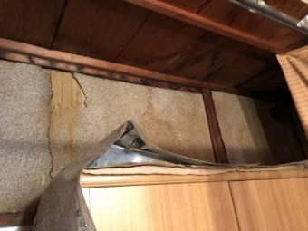 1階雨漏れ