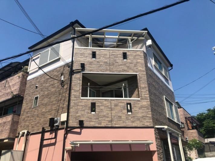 3Fテラス屋根