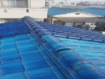 八尾市 瓦の屋根