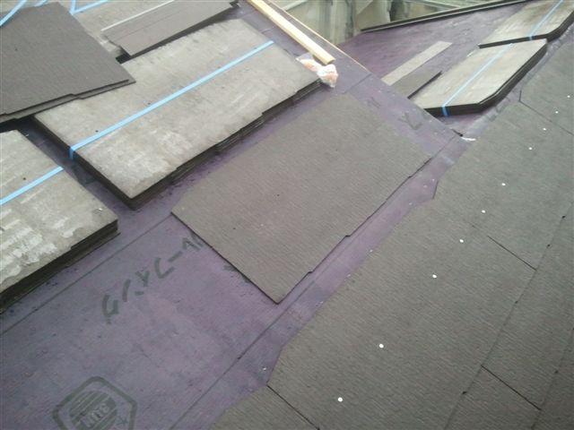 八尾ストレート屋根