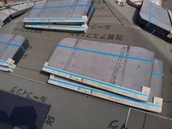 防水シート(ルーフィング)施工