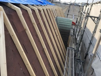 屋根 カバー工法 八尾