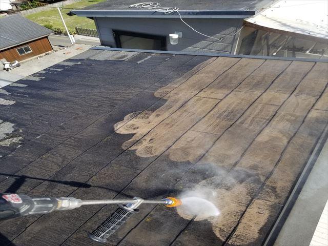 八尾 屋根の洗浄