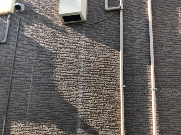 外壁サイディング部分