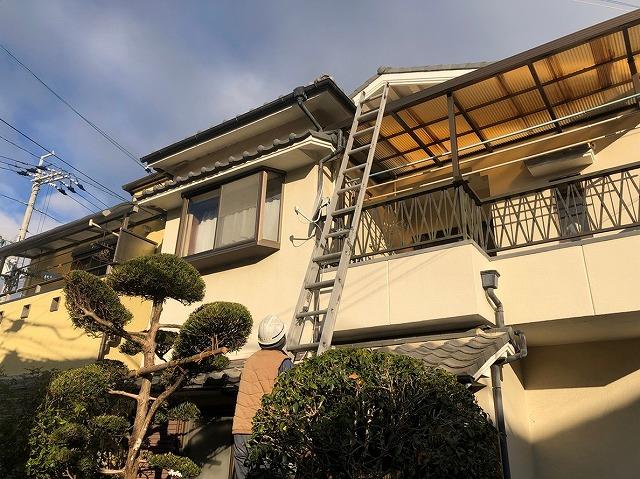 屋根漆喰修繕