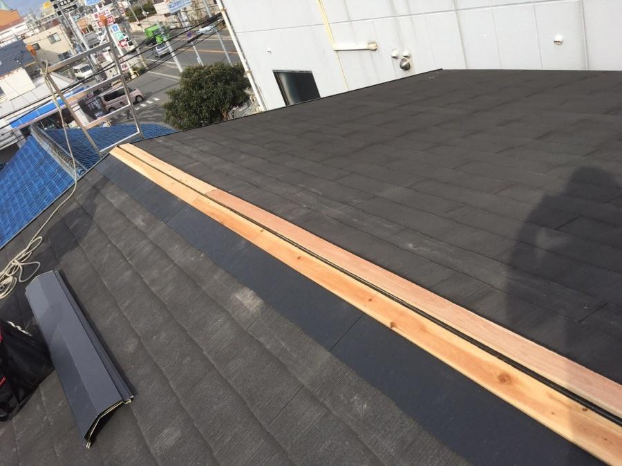 屋根の板金下地工事