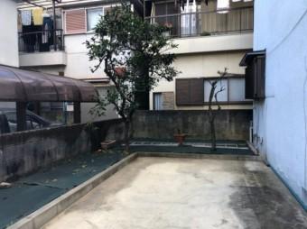 八尾市カーポート撤去後