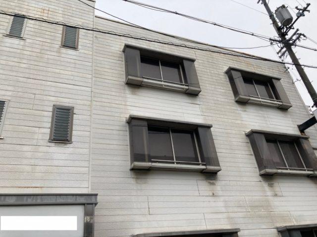 東大阪市のオフィスで雨漏りしたので現場調査にいきました