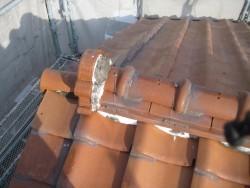 雨漏れ工事前の屋根