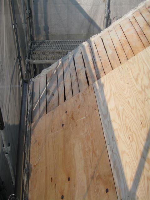 八尾 屋根 下地