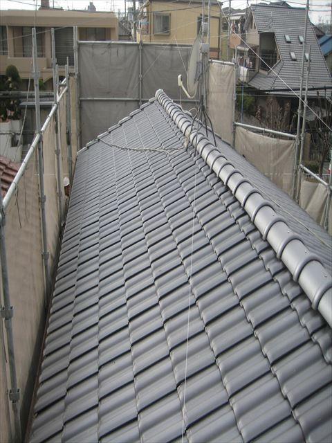 八尾市 屋根工事 瓦