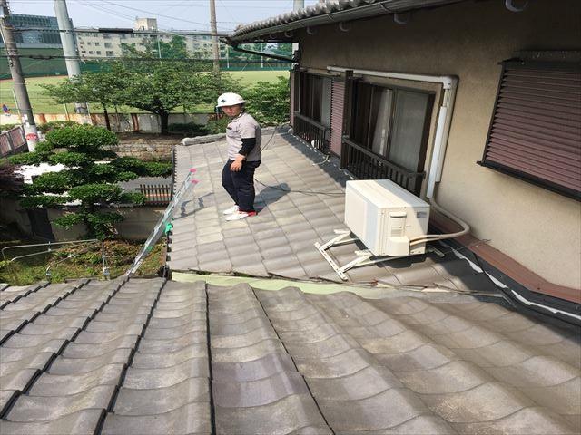 八尾市で屋根調査