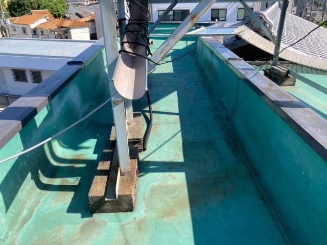 塔屋のシート防水