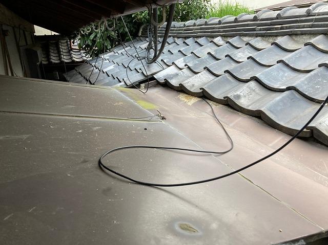 板金屋根雨漏り