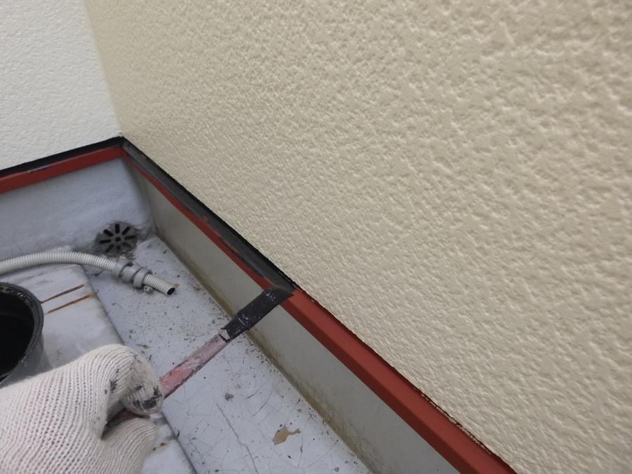 八尾市外壁塗装水切り