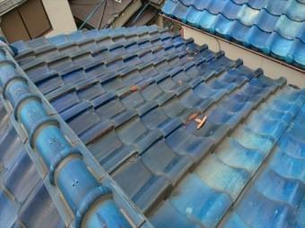 屋根瓦の現状です