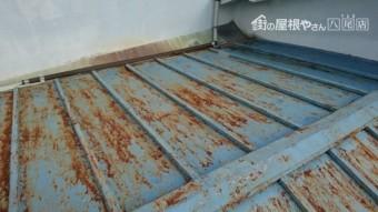 瓦棒屋根現状の写真