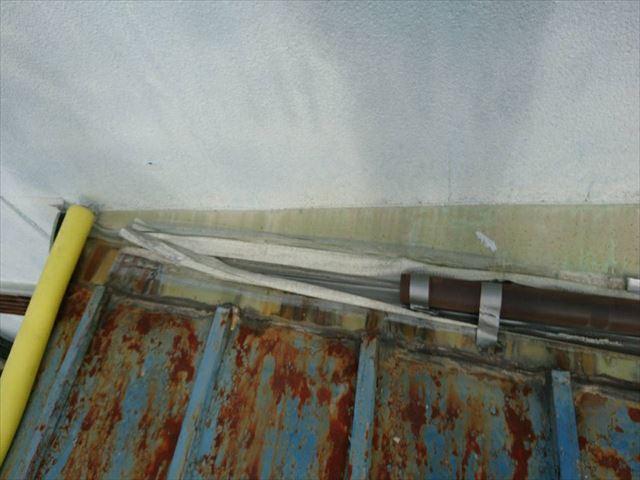 雨漏れ箇所の写真