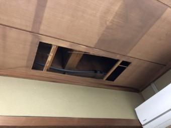 天井裏点検