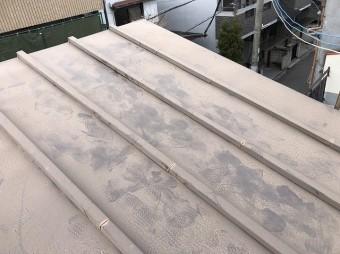 瓦棒の屋根