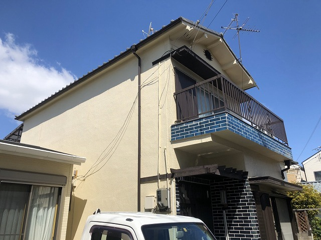 戸建て住宅塗装後5年