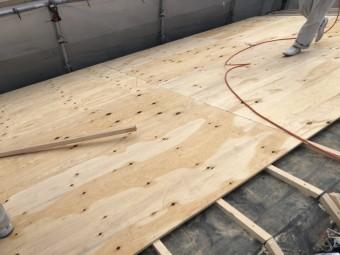 八尾 屋根葺き替え 下地