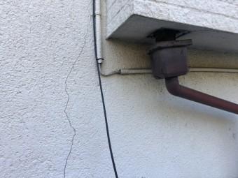外壁ヒビ割れ