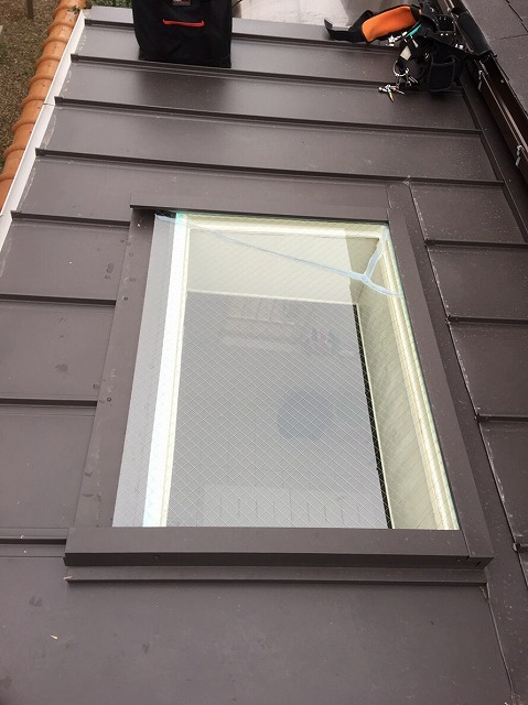 天窓ガラス