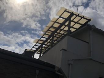 八尾市 波板 テラス屋根