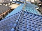 屋根葺き替え前の現場調査