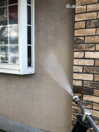 八尾 外壁 高圧洗浄