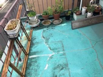 防水の劣化