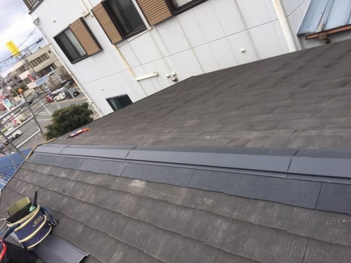 屋根修理完了