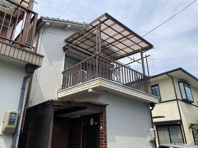 八尾市で屋根無料見積もり点検、飛込営業に漆喰の劣化を指摘された