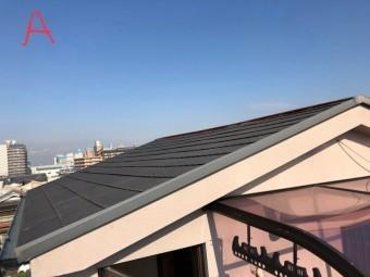 4階部分の屋根