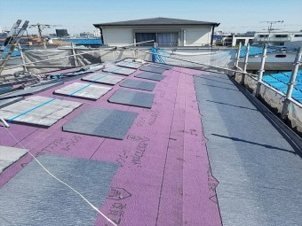 八尾市でスレート屋根に葺き替える