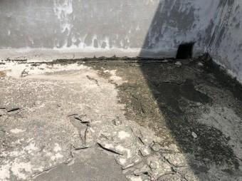 防水の表面劣化