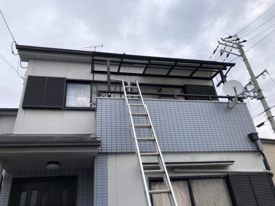 八尾 ベランダの屋根